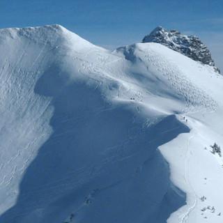 Güntlespitze - Und noch ein Berg: Für die Steilhänge der Güntlespitze müssen die Verhältnisse passen.