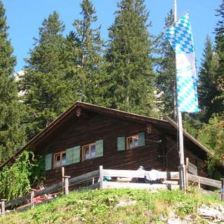 Brunnsteinhütte, Fotocredits: DAV