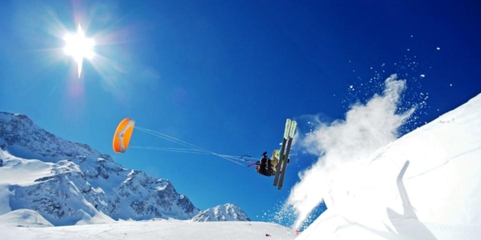 Speedflying, Foto: Bertrand Boone