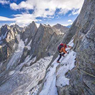 Fit in Fels & Eis - Das sind die Erwartungen an die Bewerber. Foto: Silvan Metz