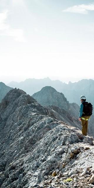 Der Jubiläumsgrat führt auf die Zugspitze, Foto: DAV/Hans Herbig