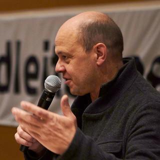 Grußwort von Eric Barnert, Vorsitzender DAV Landesverband Hessen, Foto: JDAV/Ben Spengler