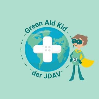 Logo des Green Aid Kid, Quelle: JDAV Bayern