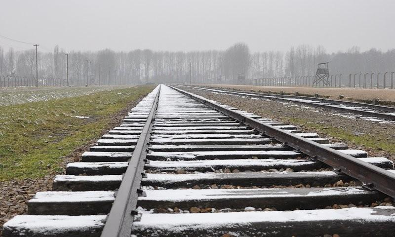 Lager Birkenau: Ankunft; (c) Jonas Freihart