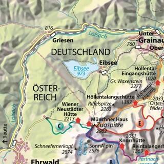 zugspitze karte deutschland Zugspitze   Bergsteigen   Sicherheit   Bergsport   Deutscher