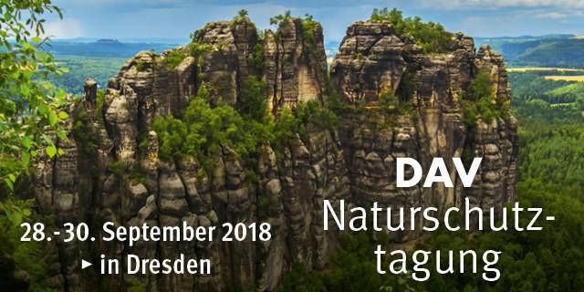 Naturschutztagung 2018 Dresden_Wege zu einem nachhaltigen Bergsport_Header