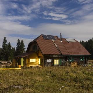 Gloggnitzer Hütte auf dem Hochplateau der Rax/ Niederösterreich, Foto: Christian Handl