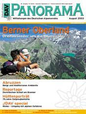 DAV Panorama 4/2003 Berner Oberland