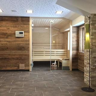 Neu: Sauna im DAV-Haus, Foto: DAV