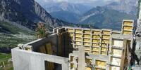 Passauer Hütte - Anbau - Die Passauer Hütte erhält einen neuen Anbau.