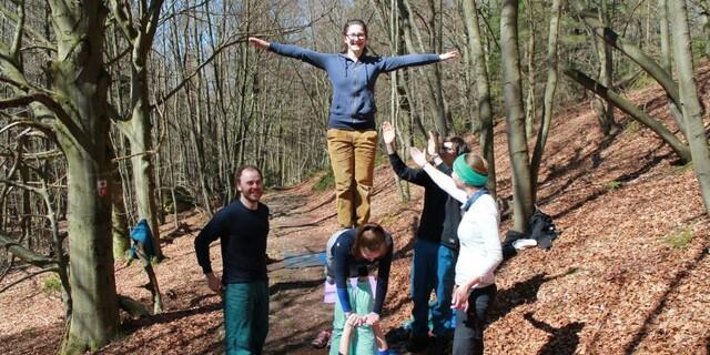 Klettern und Yoga, eine gute Kombination, Foto: JDAV/Silvan Metz