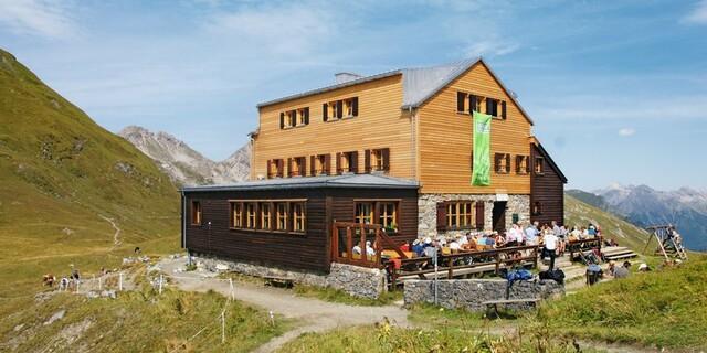 Die Stuttgarter Hütte in den Lechtaler Alpen, Foto: DAV/Sektion Schwaben