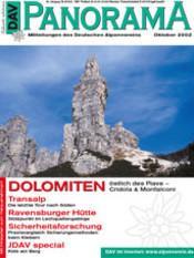 DAV Panorama 5/2002 Dolomiten