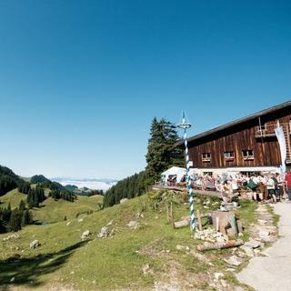 Die Priener Hütte im Chiemgau, Foto: DAV/Hans Herbig