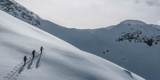 Erste Spuren im Schnee, Foto: JDAV/Christoph Hummel
