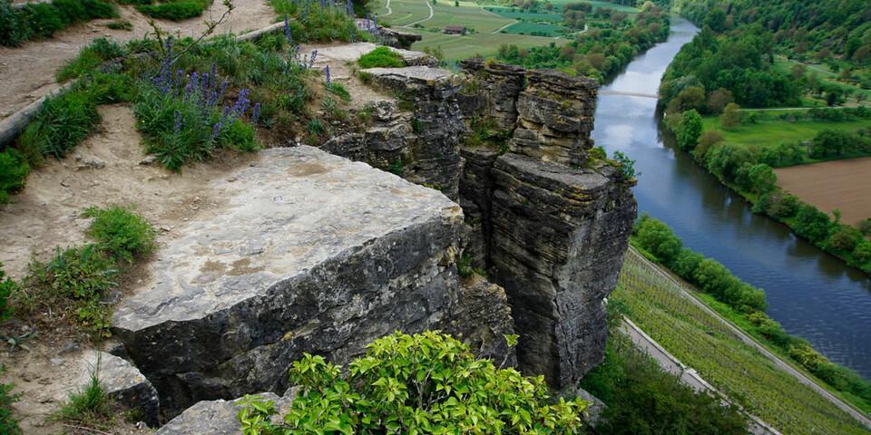 Fels und Garten sind eine Besigheimer Spezialität. Foto: Joachim Chwasczca