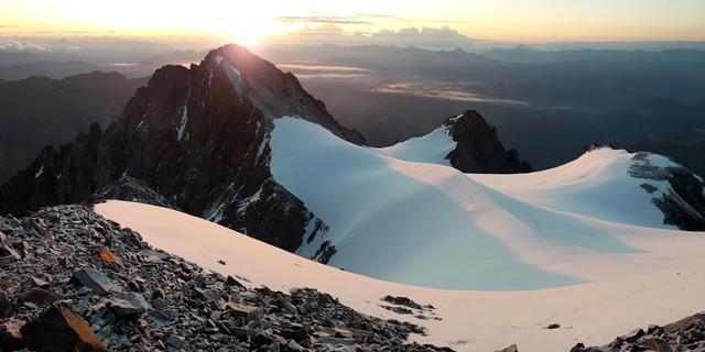 Sonnenaufgang in der Dauphine, Foto: Joschka Geissler