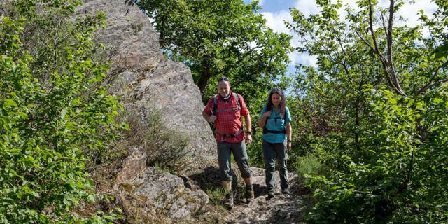 Bergauf und bergab, durch Wälder oder über Stein. Foto: DAV/Klaus Herzmann