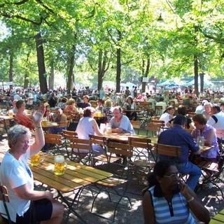 Oasen in der Stadt: Biergärten