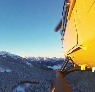 Ca. 1500 Helikopter-Einsätze fliegt die Bergwacht pro Jahr, Bild: sueddeutsche.de