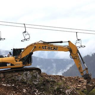 Die Erschließung neuer Geländekammern und Zusammenschlüsse von Skigebieten widersprechen einer nachhaltigen Entwicklung des Alpenraums. Foto: DAV/Steffen Reich