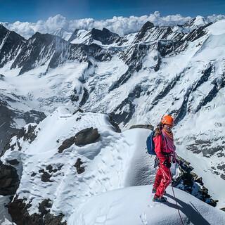 Die Alpinistin Caro North ist das Gesicht der Tour 2021. Foto: Nadine Wallner
