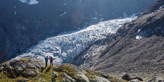 Bedrohte Gletscher – Der Gepatschferner ist Rekordhalter bei Rückzugslängen, Foto: DAV/Marco Kost