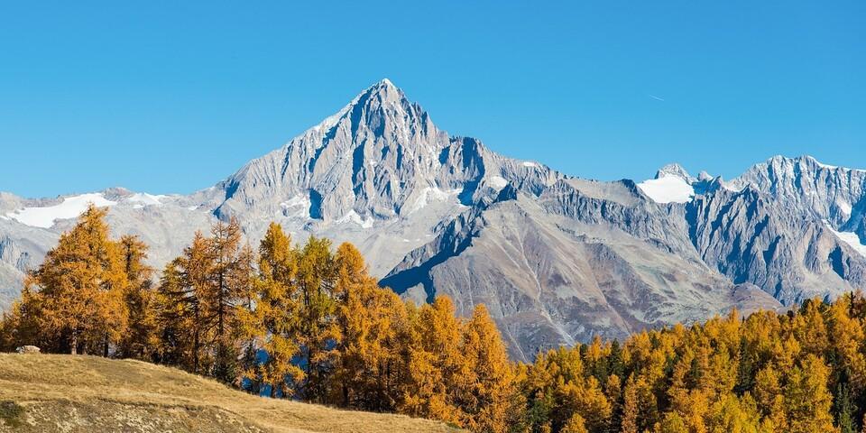 """Für den gesuchten Alpinisten war die Erstbesteigung des Bietschhorns einer von vielen Ausflügen in den """"playground of Europe"""". Foto: Pixabay/Guy Rey-Bellet"""