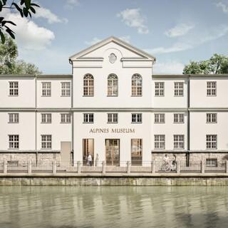 Das Alpine Museum wird umgebaut. Plan: Michael Feil Architekten, Regensburg.
