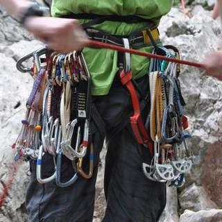 Klettern mit mobilen Sicherungsmitteln(c) lena behrendes