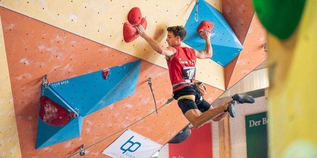 Deutsche Meisterschaft Lead 2018 Darmstadt, Foto: DAV/Thomas Schermer