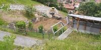 Blick von oben auf die Baustelle, 04.06.2020; Foto: Jubi/ Timo Hieronymus