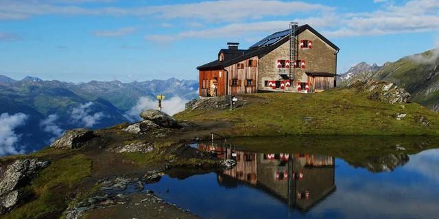 Sudetendeutsche Hütte in Osttirol, Foto: Werner Friedel