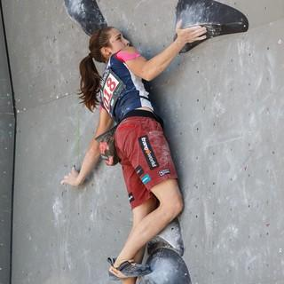 Starke Konkurrenz für Monika Retschy: Stasa Gejo (SRB). Foto: DAV/Marco Kost