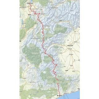 DAV Panorama Longlines-Alpencross Kartenansicht