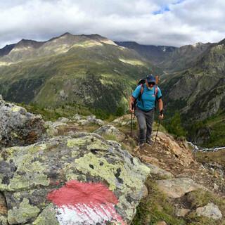 Trittsicherheit, Schwindelfreiheit und ein gutes Gespür für die richtige Route. Foto: Stefan Herbke