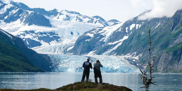 Don Becker, US Geological Survey. Surprise Glacier, Alaska, USA. Foto: creative commons