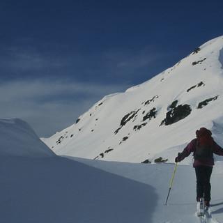 Die Kitzbühler Alpen (wie hier am Aleitenkopf) könnten am Wochenende eine gute Wahl sein (Foto: Pröttel).