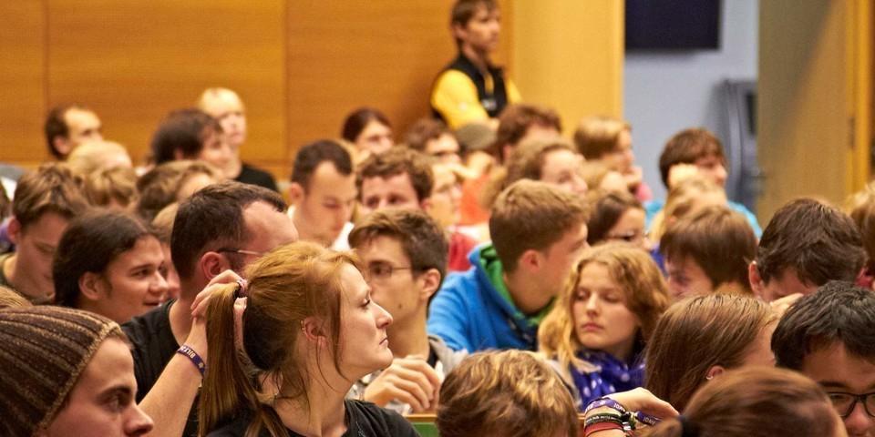Ein Blick ins Plenum
