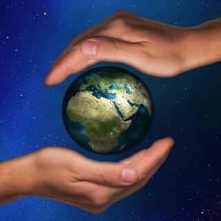 Auf die Welt acht geben, Foto: pixabay/geralt