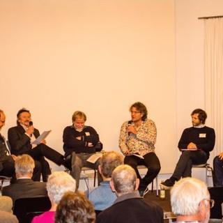 Podiumsdiskussion, Foto: DAV/Marc Stannartz