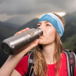 Genug Wasser mit auf den Berg nehmen, Foto: DAV/Jens Klatt