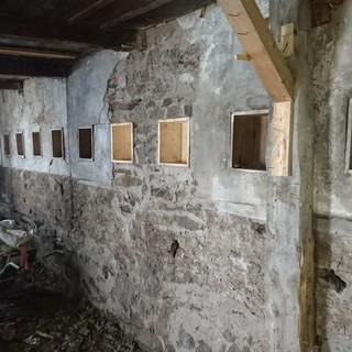 Historische Wandnischen aus Zeiten Johann Stüdls, Foto: DAV/ Robert Kolbitsch