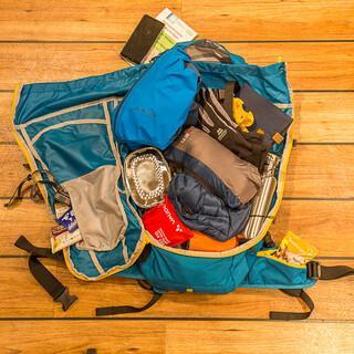 Die richtige Packweise zahlt sich aus. Foto: DAV/Franz Güntner