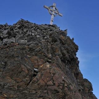 Hinterer Seelenkogel - Berg Heil! Nicht mehr weit ist es bis zum ersten Dreitausender, dem Hinteren Seelenkogel.