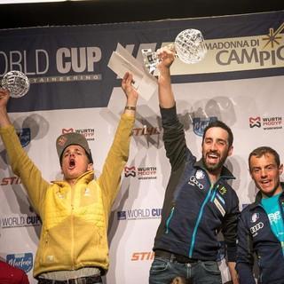 Toni Palzer, Zweiter im Gesamtweltcup. Foto: ISMF Presse/Maurizio Torri