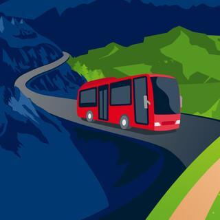 Bergsteigerbus - Grafik: Marmota Maps
