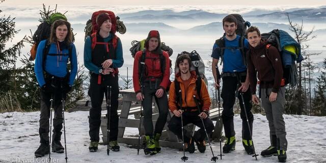 Die Mitglieder des DAV-Expedkader 2015. Foto: DAV / David Göttler