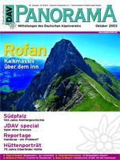 DAV Panorama 5/2003 Rofan