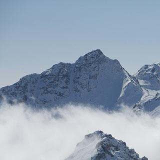 Piz Sesvenna - Was für ein Berg: Hinter der Sesvennahütte wartet der gleichnamige Piz.